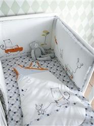 Комплект детского постельного белья в кроватку сшить 897