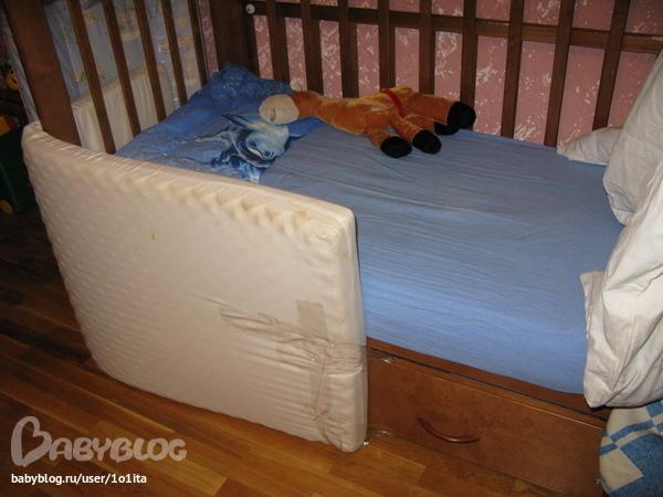 357Бортики для кровати от падения как сделать