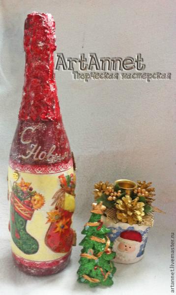 Такое шампанское станет самым незабываем подарком для праздника)) Могу сделать совершенно любой декор, можно сделать...