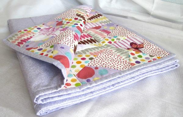 Одеяло для новорожденных пэчворк своими руками