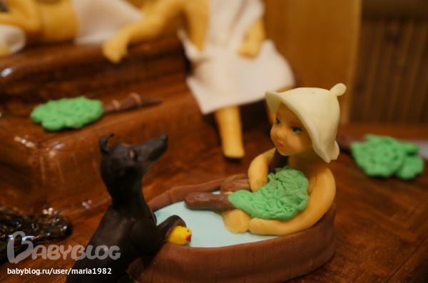 Как сделать торт баня