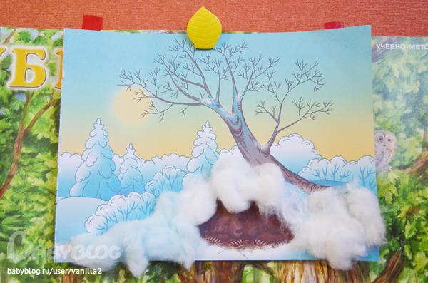 Раскраска для детей берлога медведя