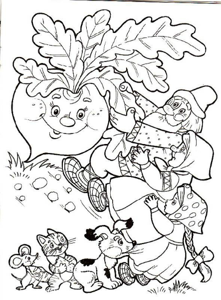 как нарисовать персонажей сказки буратино