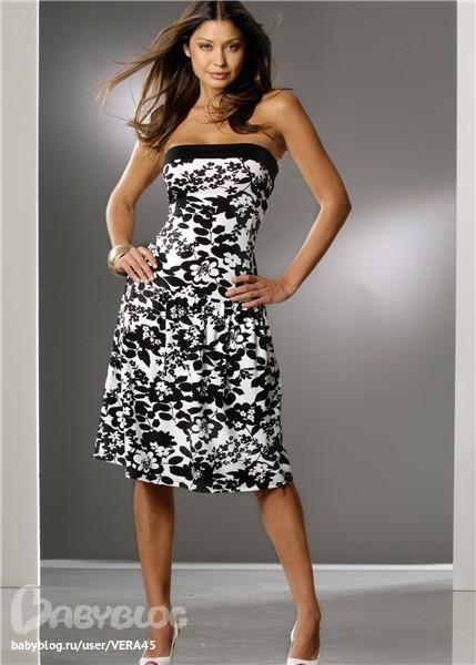 Выкройка летнего платья (шитье