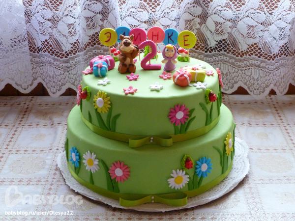 Рецепты двухъярусных тортов для детей