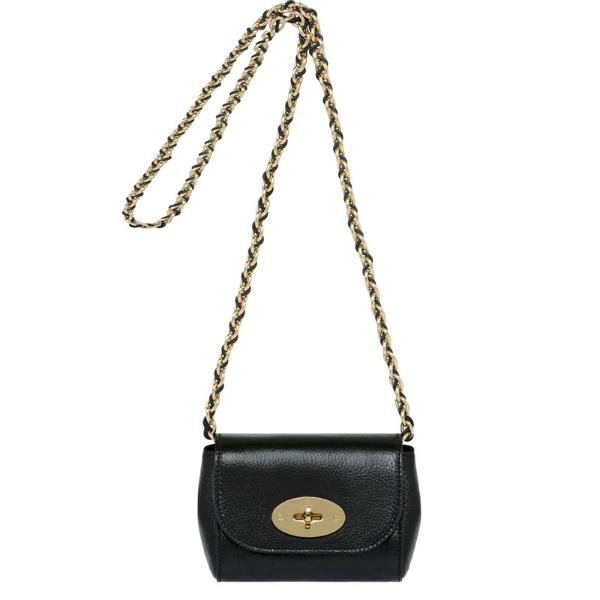 Маленькая женская сумка клатч с длинной цепочкой