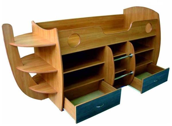 Мебель в детскую своими руками из дерева фото 105