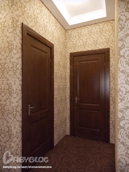 Обои в коридор