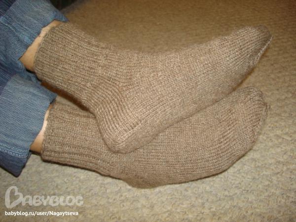 Носки 46 размера вязать