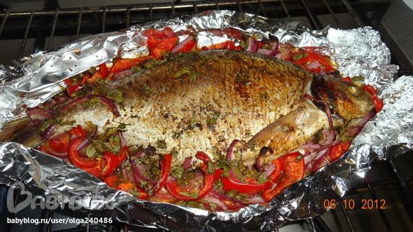 Как приготовить лакедру в духовке в фольге
