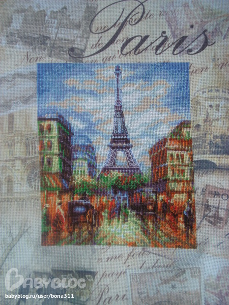"Париж"" Riolis."