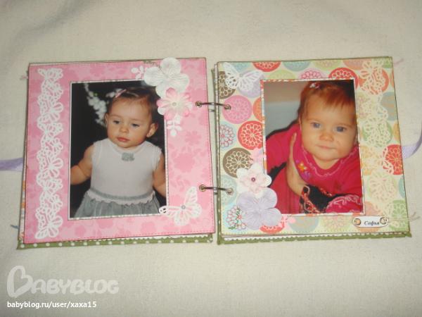 Фотоальбом для бабушки скрапбукинг