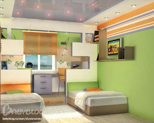 Дизайн 13 метровой комнаты
