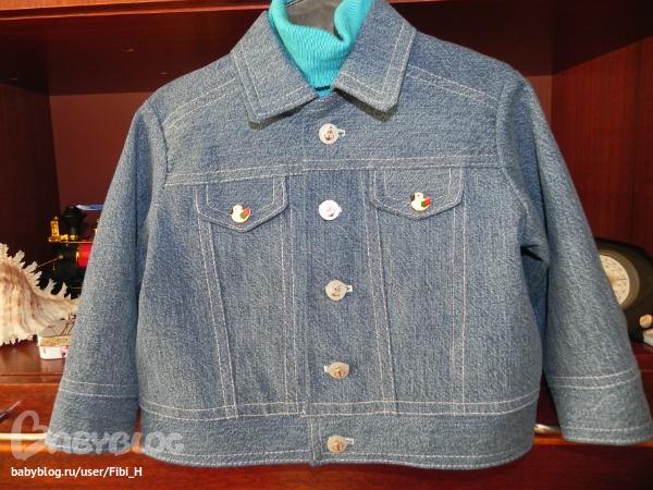 Как сшить джинсовую куртку для девочки самостоятельно? 17