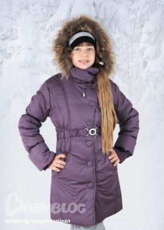 Пальто зима для девочек 12