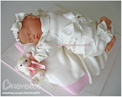 Я тут дизайн тортика дочке на 1 годик