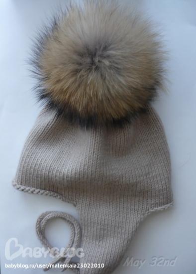 Девочки подскажите схему вот такой примерно шапочки, именно форма с ушками и вязание ручное, окр головы на 52.