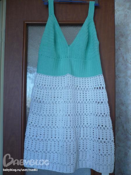 Сшить подкладку для вязаного платья
