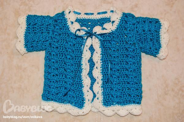 Вязание для детей 3 месяца мастер класс