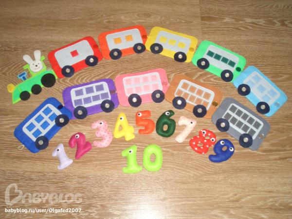 Игрушки своими руками для изучения цвета