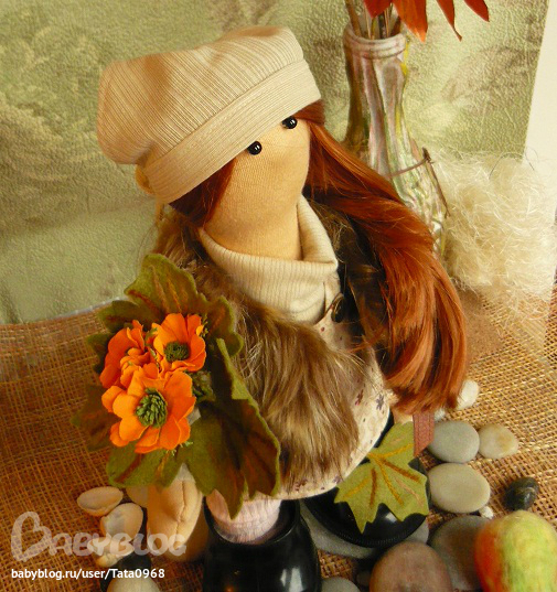 Шьем девочкам осень
