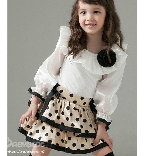 Праздничные Блузки Для Девочек