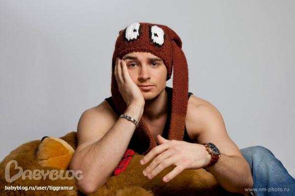 прикольные взрослые шапки)))