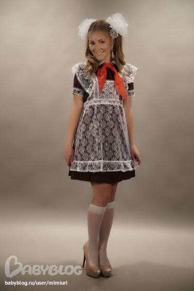 школьные платья образца ссср
