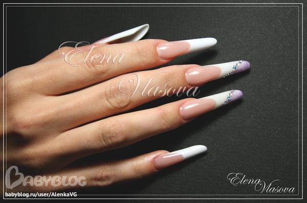 Дизайн ногтей пайп
