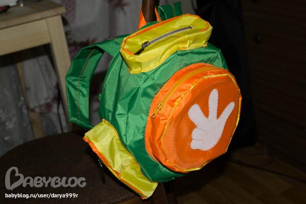 Вот такой рюкзак-помогатор из