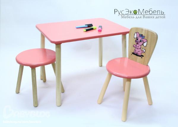 детский деревянный стол и стулья детский деревянный столик
