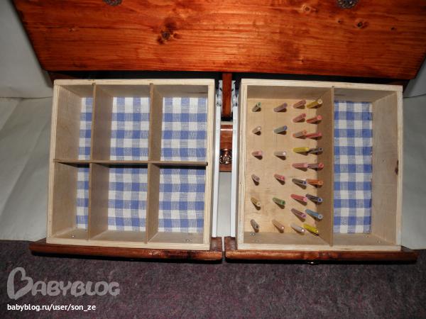 Коробка для ниток мулине своими руками 50