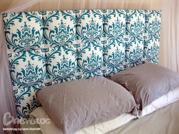 Кровать спинка своими руками