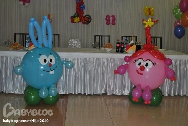 Фигуры из надувных шаров своими руками