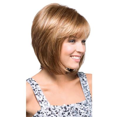 Женская модельная стрижка на средние волосы