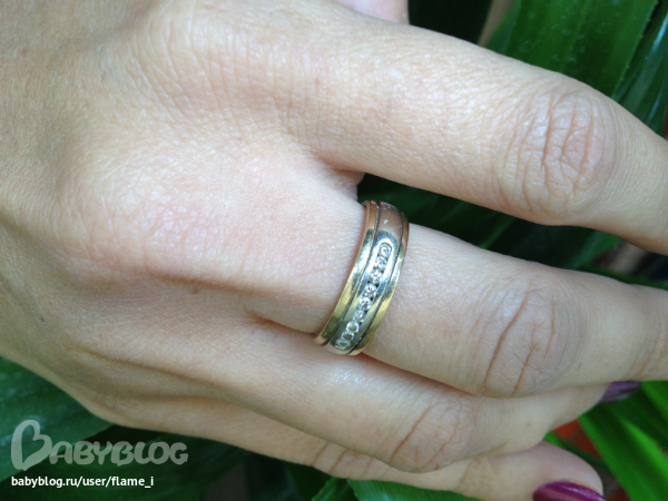 широкие кольца золото