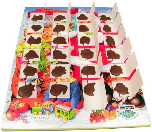 Календарь с шоколадками на каждый день