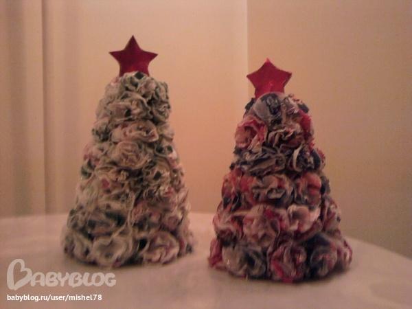 Поделки для детского сада новогоднии