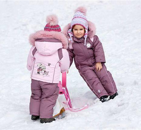 Зимний Одежда Для Девочки
