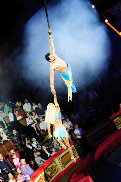 не так давно мы наконец попали в цирк на Вернадку, меня всегда впечатляли только акробаты, просто сердце замирает...
