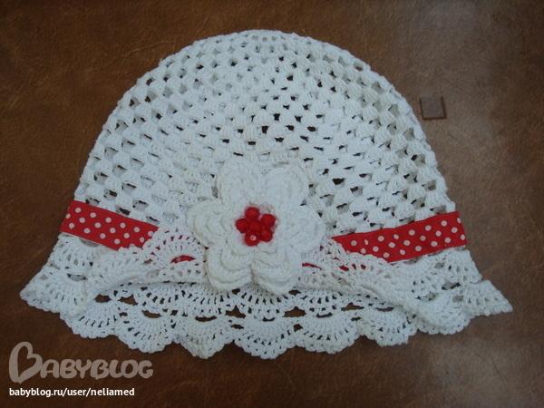 Вязание летних шапок панамок для детей