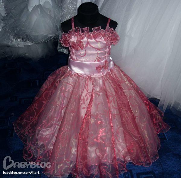 Платья на новый год для девочек как сшить