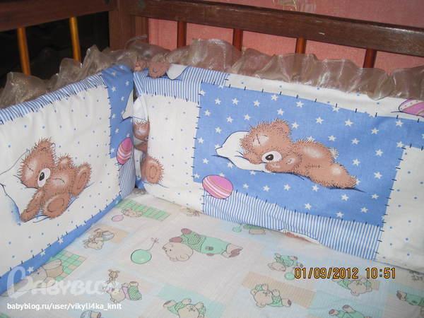Кармашки для детской кроватки сшить 10