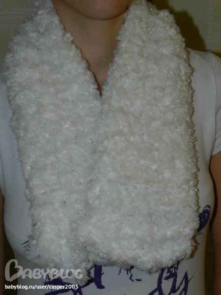 Вязание спицами - Шарфец из Фурланы.