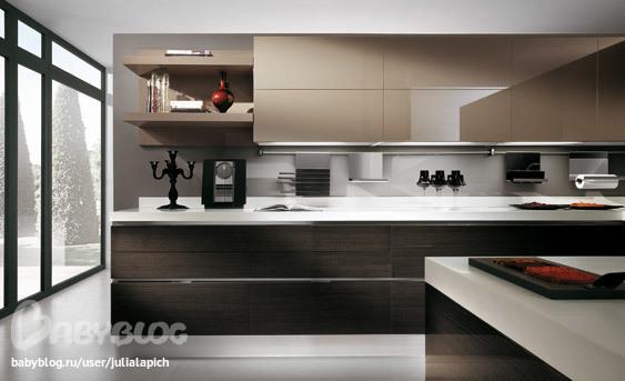 Фото кухни с плиткой на стене