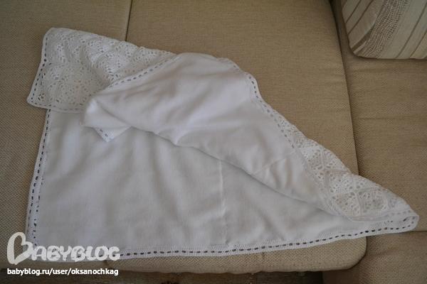 Одеяло на выписку своими руками из флиса 164