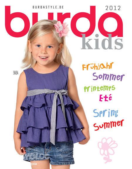 Бурда моден детское платье