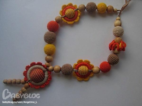 【引用】俄网:钩针项链(8) - 秋林红叶 - 秋林红叶