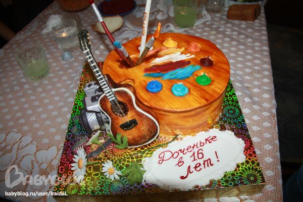 Шоколадно-кофейный торт фото 10