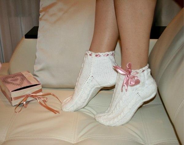 фото девушек на носочках